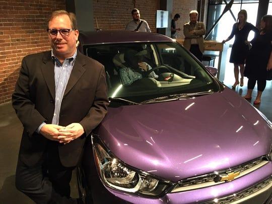 Dan Kinney, director of user experience at Chevrolet,
