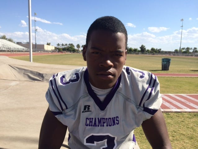 No. 7 Hamilcar Rashed Jr., Laveen Cesar Chavez, 6-4, 225, DE/OLB/WR/TE | Rashed had 20 sacks, including three against Mountain Pointe, against Division I competition last season. Imagine the numbers he'll put up playing in Division III now. Rashed's motor is not only revved up for defense, but on offense.