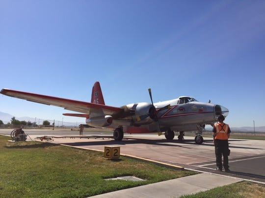 San Bernardino National Forest Airtaner Base, Thursday, June 25, 2015.