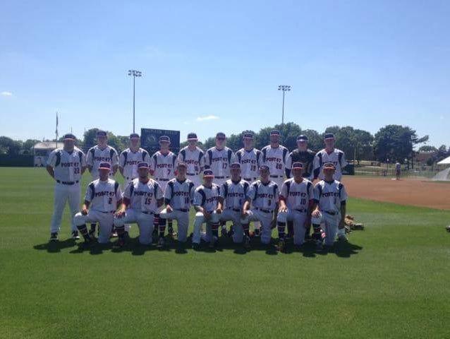 The Haywood County American Legion Post 47 baseball team.