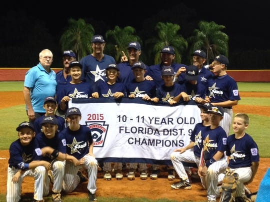 South Fort Myers 10-11 baseball all-stars
