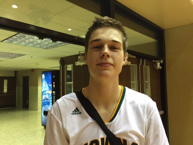 Grant Gelon of Crown Point had a big week, leading to attention from IU during the Adidas Invitational.