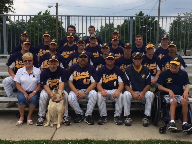 The Michigan Rams earned a berth in this week's NABF national tournament after clinching first place in the Livonia Michigan Collegiate Baseball League on Friday.