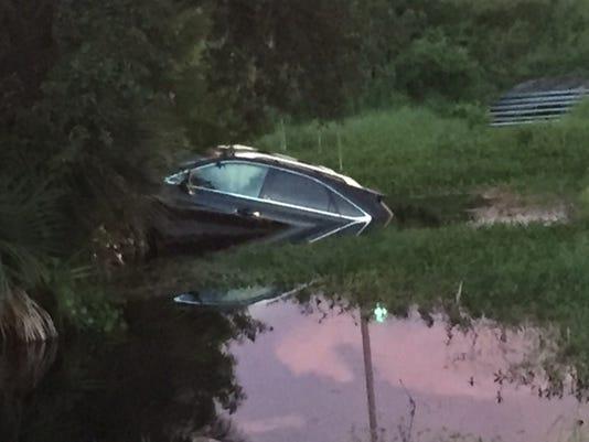 Car vs. Ditch