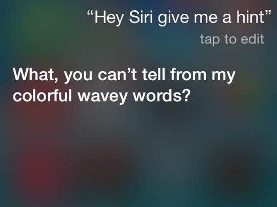 At least Siri has a grasp on sarcasm.