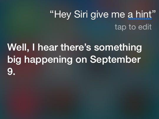 Good luck getting any details from Siri on Apple's