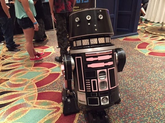 This droid turned heads at the 2015 Space Coast Comic Con in Cape Canaveral.