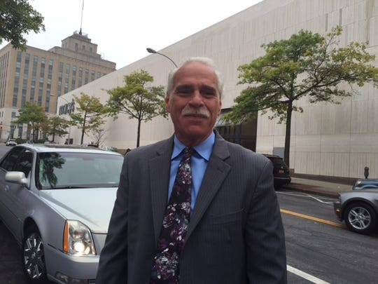 Michael Mannetti, a limo driver in White Plains