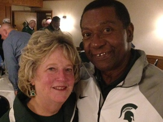 Micki and Ernie Pasteur met as MSU classmates and married