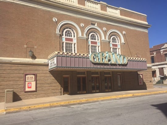 Keokuk's Grand Theatre was built in 1924 on the site