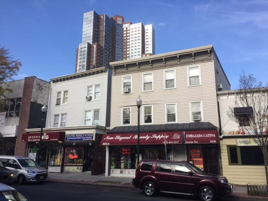 A view of the old and new along New Rochelle's Main