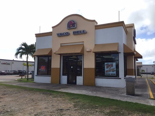 Dededo Taco Bell photographed on Nov. 24, 2015.