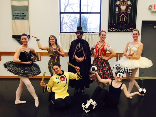 Dancers in Fountain Ballet Academy's upcoming production