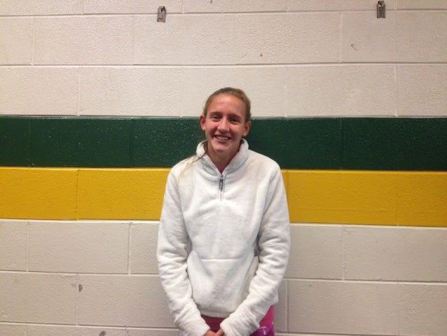 Reynolds senior Anna Vess.