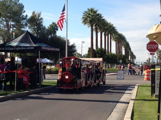 Christmas in the Park - Litchfield Park | This holiday event has something for everyone—from the craft show starting at 9 a.m. to the festive parade that begins at 10 a.m. The event also includes real snow, visits with Jolly Old St. Nick, live entertainment and other family-friendly activities. | Details: 9 a.m.-4 p.m. Saturday, Dec. 10. Litchfield Park Town Center, intersection of Wigwam Blvd. and Old Litchfield Road, Litchfield Park. Free. 623-935-9040, litchfield-park.org.