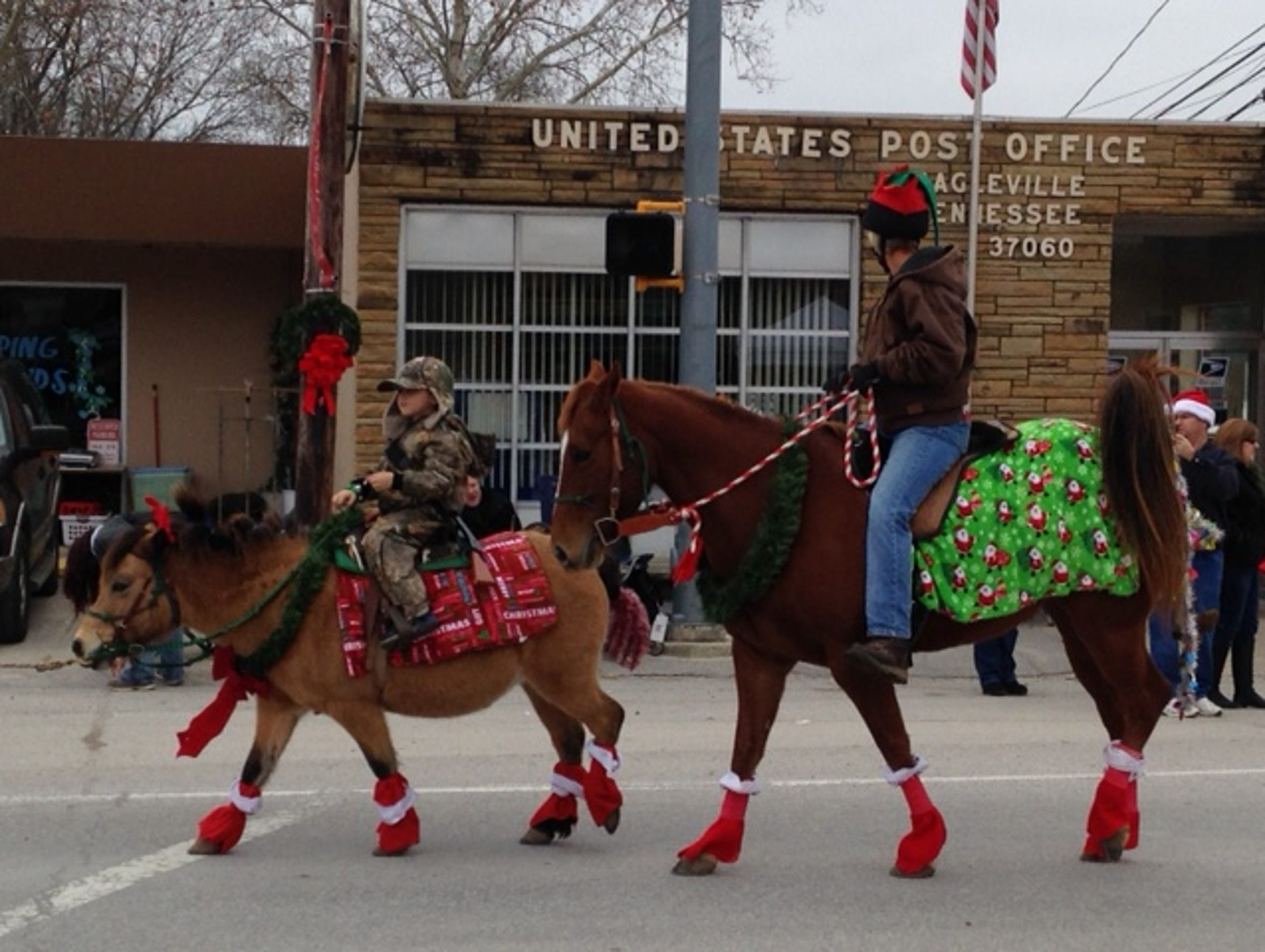 The Eagleville Christmas Parade is set to step off