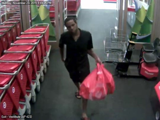 Police say this man stole from Target on two occasions.