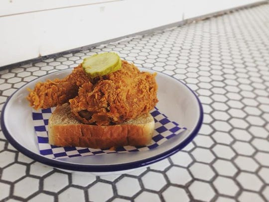 Kentucky Pressured Fried Chicken at Royals Hot Chicken.