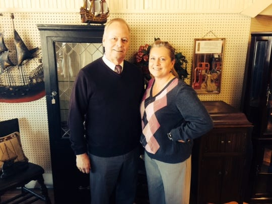 Greg and Jodi Ellious are happy to be part of the Marshfield community with the opening of Cranberry Creek Antiques and Resale.