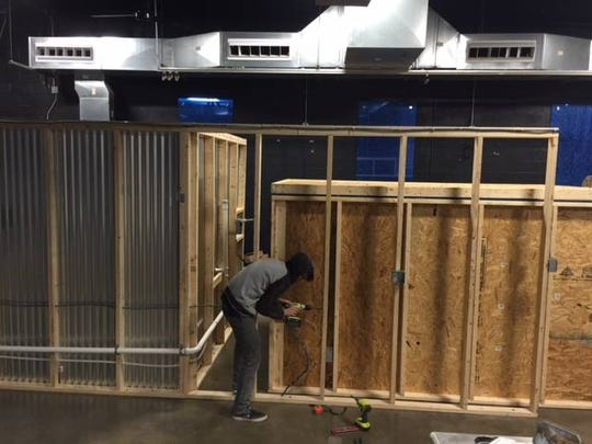 Construction work was underway in the new home of Old Republic Distillery in North York in the second week of January. The business is expected to open in February in the former LUX Night Lounge at 1327 N. Duke Street.