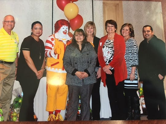 Anabel Jimenez received the Ray Kroc Award, which only one percent of store managers in the McDonald's franchise receive.