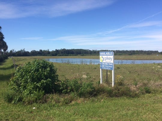 Proposed site for new Bonita Springs high school, at Imperial Parkway and Shangri-La Road became available when a developer's option to buy the site expired in December.