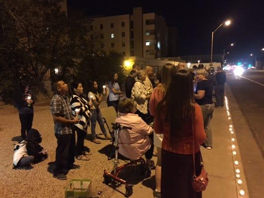 'Baby Chava' vigil
