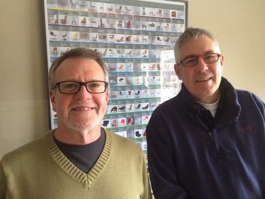 Steven Wilson, left, and Jeffrey Blum, own Wilson Blum