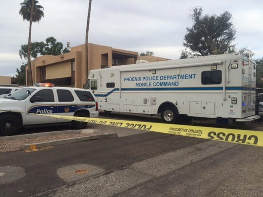 Phoenix police say a woman was found dead in an apartment near 19th Avenue and Ocotillo Road, and a man seen running from the unit has been arrested.