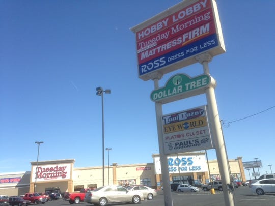 Hobby Lobby, Tuesday Morning, and Ross Dress for Less stores are reviving the Viscount Village shopping center in East El Paso.
