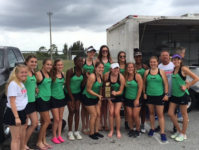 The Fort Myers girls tennis team won its sixth consecutive district title Thursday at Charlotte High in Punta Gorda