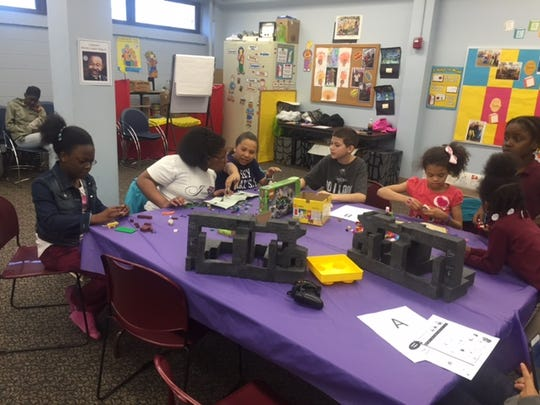 Members of the Children's Club at Cumberland County