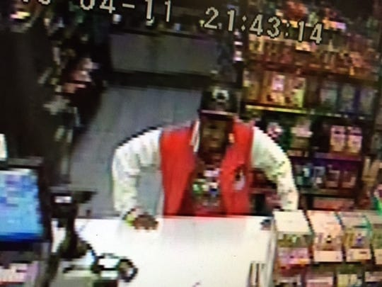 Surveillance image of possible witness.