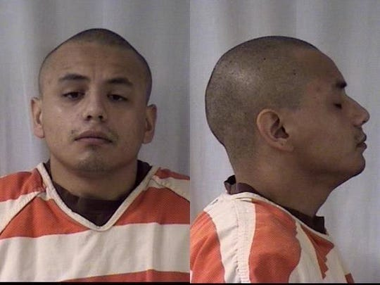 Mug shot of murder suspect Jared Jerome Stone after his arrest in Wyoming.