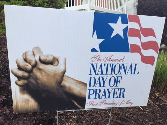 The National Day of Prayer was observed Thursday across the country  and in downtown Mansfield at the Central Park gazebo.