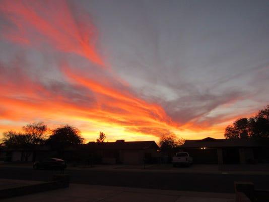 Sunset in North Phoenix