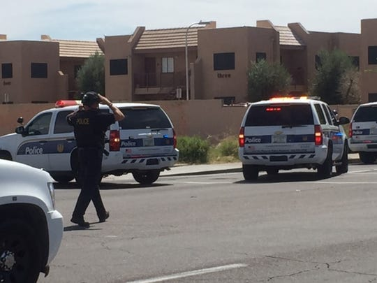 Phoenix police said they were working an active shooting