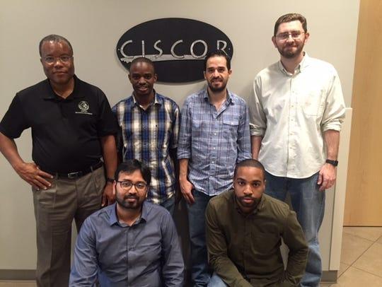 CISCOR Director Emmanuel Collins, post-doctoral student