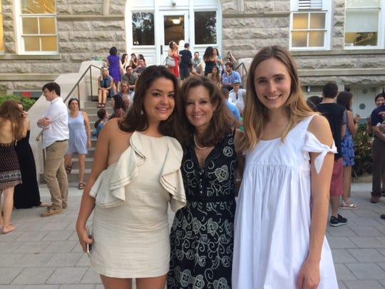 Stephanie Wartelle, Kris Wartelle and Helen Bone