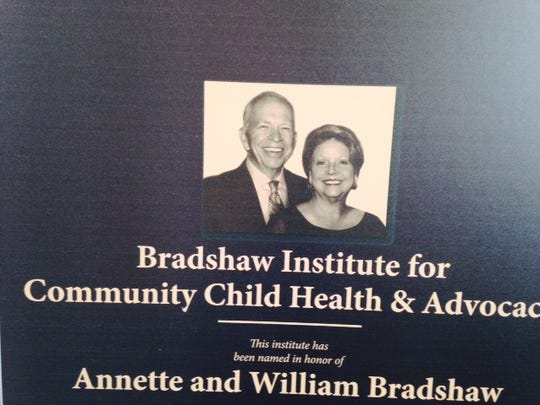 A gift from William and Annette Bradshaw will fund the Bradshaw Institute for Community Child Health & Advocacy