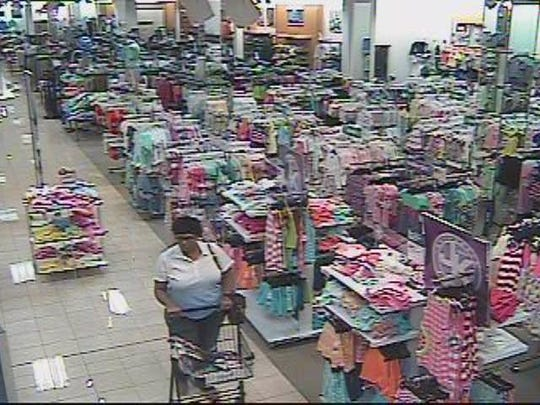 Springfield police are searching for two women who bought $777 worth of fragrances from Belk's with a temporary credit card that was recently opened at a Belk's store in Gallatin.