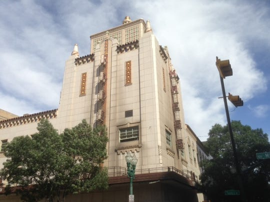 The old Kress department store building is located at Oregon Street and Mills Avenue, across the street from San Jacinto Plaza.