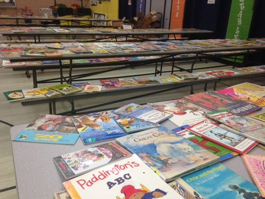 About 100 students at Washington Elementary School in Charlotte were allowed to pick books to read over the summer. More than 1,000 books were donated to the Summer Books program.
