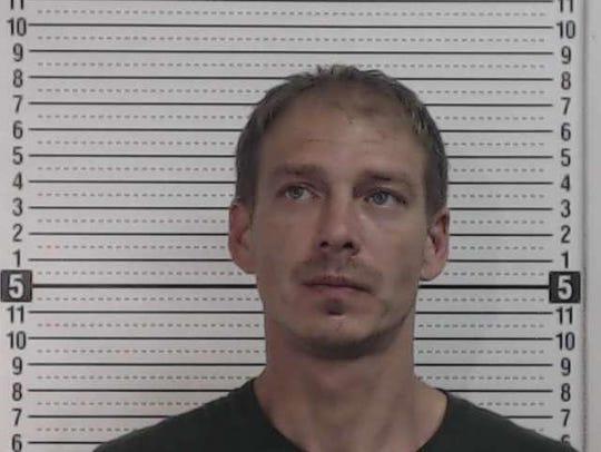 Michael Gierhart II, arrested on June 21, on meth-related
