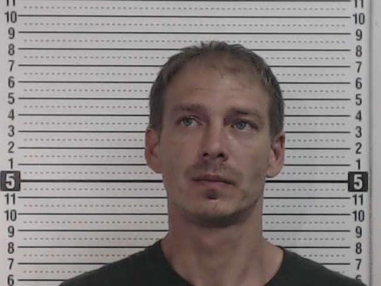 Michael Gierhart II, arrested on June 21, on meth-related