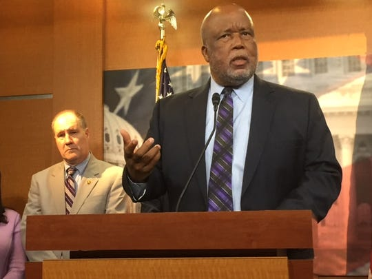 Rep. Bennie Thompson, D-Miss., joined Republicans and