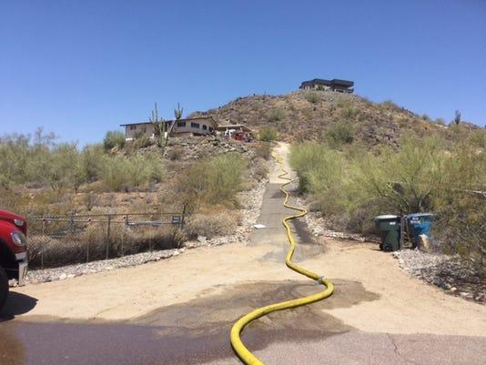 North Phoenix house fire