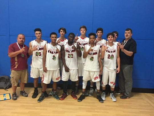The Carolina Flames, coached by Roger Brown and Pete Ledford, won their age group at the 2016 Jet Jam tournament in Henderson County.