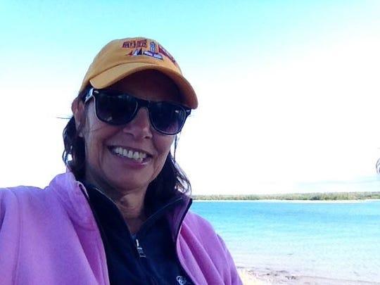 Chippewa skipper Pam Wall