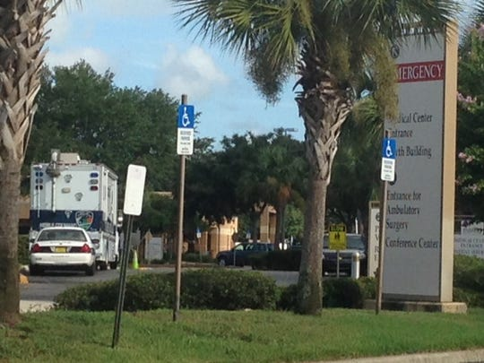 Two people were killed in a shooting at Parrish Medical Center in Titusville early Sunday.